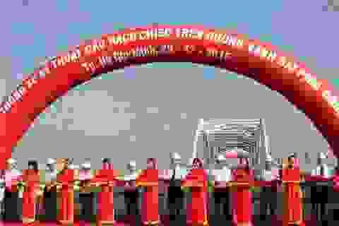 TPHCM: Thông xe kỹ thuật cầu Rạch Chiếc trên đường Vành đai Đông