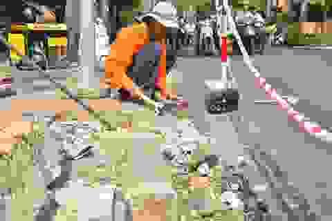 Dấu tích Sài Gòn xưa bên dưới những vỉa hè loang lổ