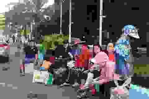 Hành khách trễ tàu Tết được mua vé đi chuyến kế tiếp