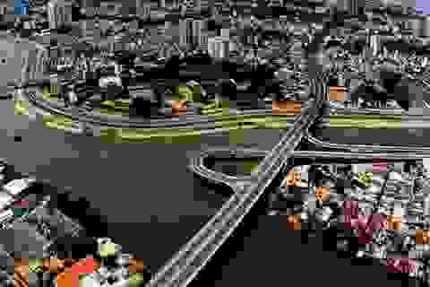 TPHCM: Xây thêm 2 nhánh cho cầu Nguyễn Văn Cừ để chống kẹt xe