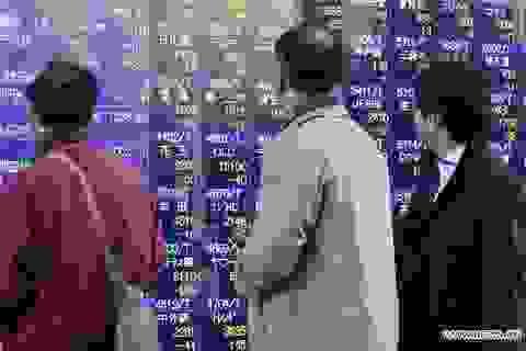 Chứng khoán Nhật Bản tăng mạnh nhất kể từ năm 2008