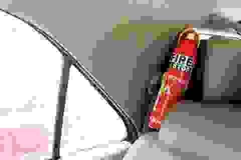 """""""Loạn"""" thị trường bình chữa cháy mini lắp trên ô tô"""
