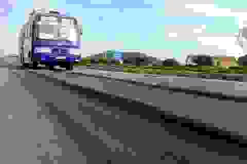Bộ trưởng Thăng yêu cầu xử lý vệt lún bánh xe trên quốc lộ 1A