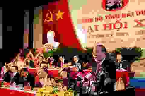 Chủ tịch Quốc hội Nguyễn Sinh Hùng chỉ đạo Đại hội Đảng bộ tỉnh Hải Dương lần thứ XVI