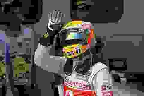 Hamilton lại giành Pole tại Grand Prix Malaysia