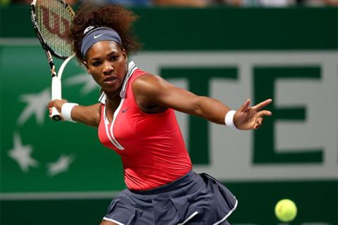 Sharapova tranh cúp vô địch cùng Serena Willillams