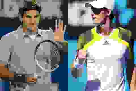 """Federer, Murray """"vã mồ hôi"""" mới hạ được các đàn em"""
