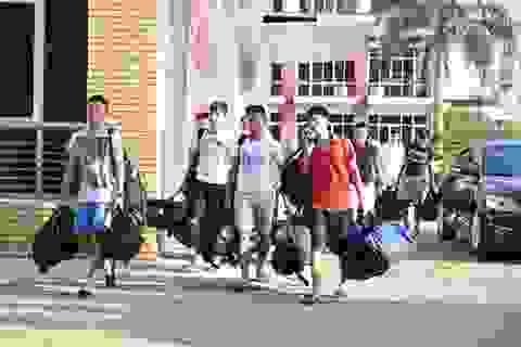 U23 Việt Nam háo hức hội quân tại Hà Nội