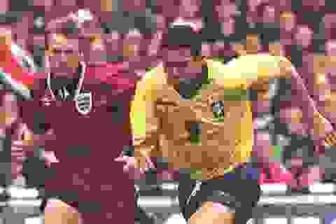 Duyên nợ giữa tuyển Brazil và Anh