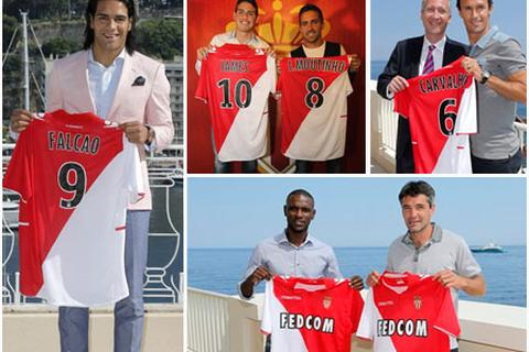 Monaco cho ra mắt Falcao và 5 ngôi sao mới chiêu mộ