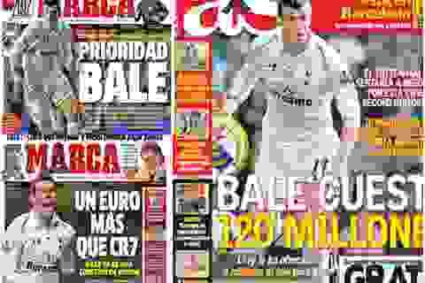 Truyền thông Tây Ban Nha chống lưng cho Real Madrid mua Bale