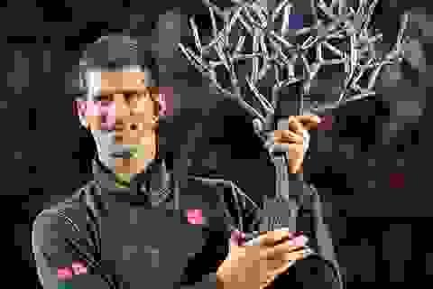 Vô địch Paris Masters, Djokovic nuôi hy vọng trở lại ngôi số 1