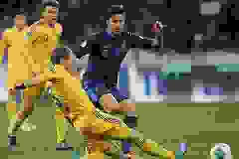 Thua Ukraina, Pháp sắp nhìn World Cup 2014 từ xa