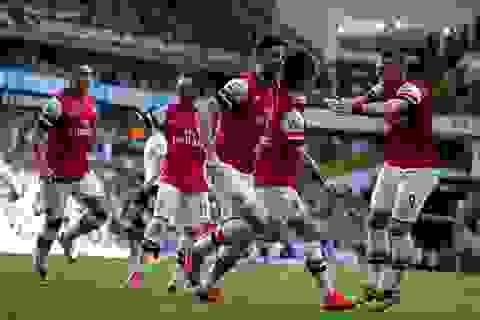 Arsenal hạ Tottenham bằng tuyệt phẩm của Rosicky