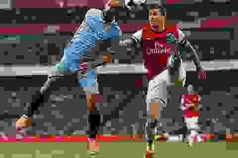 """Arsenal """"cưa điểm"""" với Man City"""