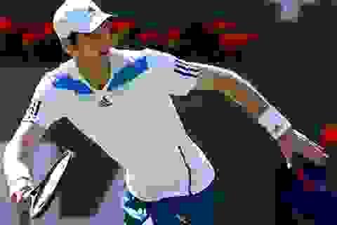 Andy Murray đạt mốc 300 trận thắng trên mặt sân cứng
