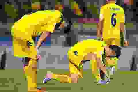 SL Nghệ An tiếp tục thua B.Bình Dương