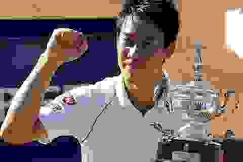 Tay vợt Nhật Bản gây sốc với ngôi vô địch Barcelona Open