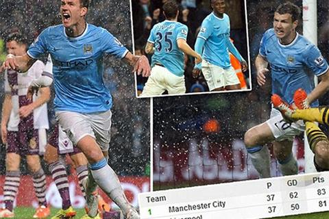 Man City áp sát ngôi vô địch Premier League
