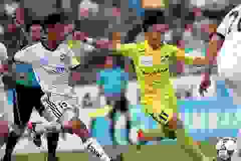 SL Nghệ An bị chia điểm trên sân nhà