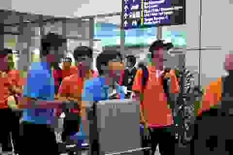 Đội tuyển Việt Nam đổ bộ xuống Kuala Lumpur