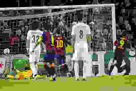 Đánh bại PSG, Barcelona giành ngôi đầu bảng
