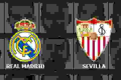 Real Madrid - Sevilla: Cuộc chiến không khoan nhượng