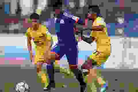 """""""Ngựa ô"""" Than Quảng Ninh thất bại trên sân nhà"""