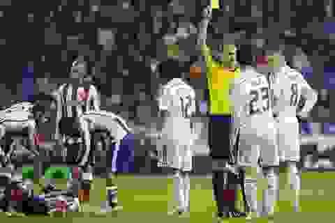 """Real Madrid tan mộng """"ăn ba"""": Gã khổng lồ bất lực"""