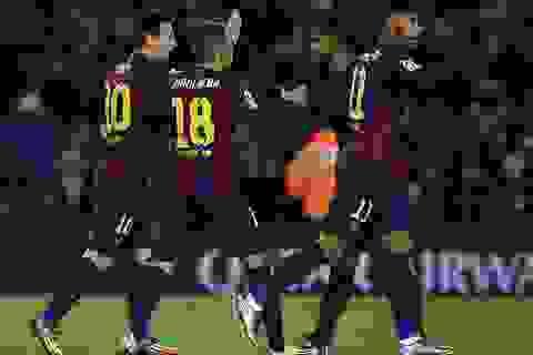 Barcelona tiếp đà thăng hoa bằng chiến thắng thứ 10?