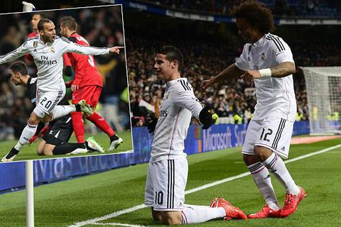 Hạ gục Sevilla, Real Madrid bỏ xa Barcelona