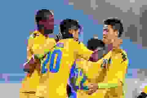 Hà Nội T&T thắng đậm Persib Bandung