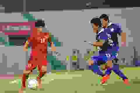 Olympic Việt Nam gục ngã trước Olympic Thái Lan
