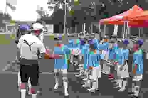 Sôi động giải bóng đá học đường vì tương lai bóng đá Việt Nam