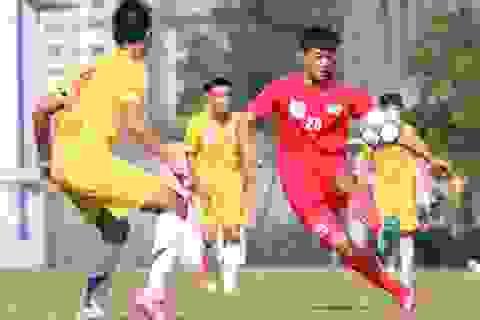 Xác định được các cặp đấu bán kết giải U19 Quốc gia 2015
