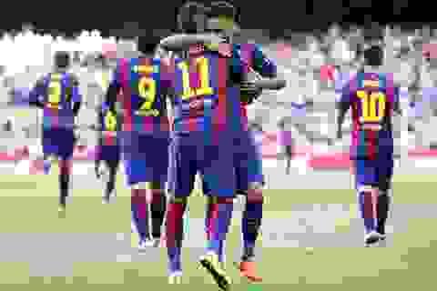"""Barcelona trước cơ hội giành """"cú ăn ba"""" vĩ đại: Giấc mơ có thật"""