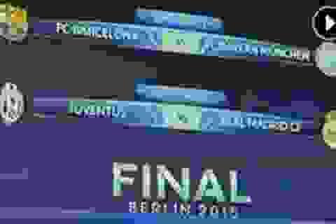 Barcelona tái ngộ Bayern Munich, Real Madrid chạm trán Juventus