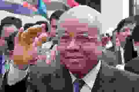 Chủ tịch Đảng Nhân dân Campuchia gửi Điện mừng Tổng Bí thư