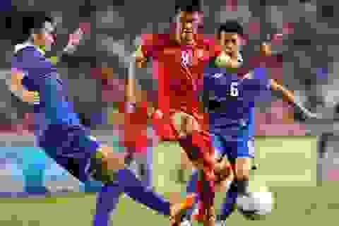 Chơi thiếu người, đội tuyển Việt Nam thua tiếc nuối Thái Lan