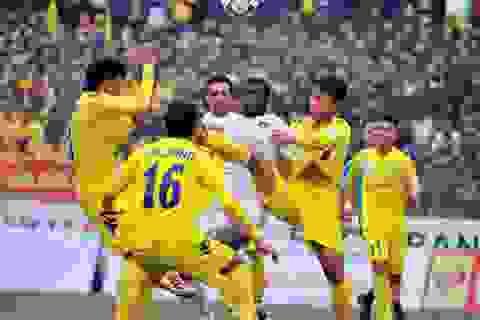 SL Nghệ An bị Cần Thơ cầm hoà trên sân nhà