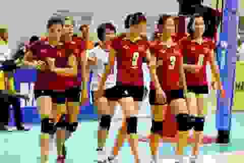 Đội tuyển bóng chuyền nữ Việt Nam thua Đài Loan ở tứ kết
