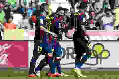 Cordoba 0-8 Barcelona: Suarez lập hattrick, Messi ghi 2 bàn