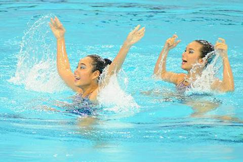 Bơi nghệ thuật Việt Nam vào trận
