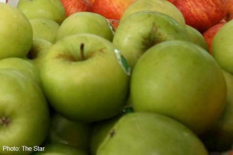 Malaysia cấm nhập táo Mỹ do nhiễm khuẩn
