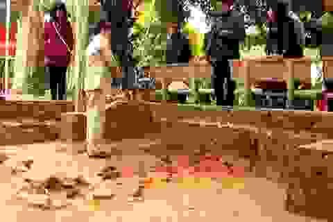 Thái Bình phát hiện nhiều hiện vật cổ về hành cung Lỗ Giang