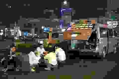 Vụ tài xế xe cứu thương bị hành hung: Bảo vệ bệnh viện bị tạm đình chỉ