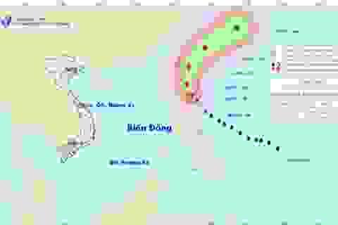 Bão Noul mạnh lên thành siêu bão trên vùng biển Philippin