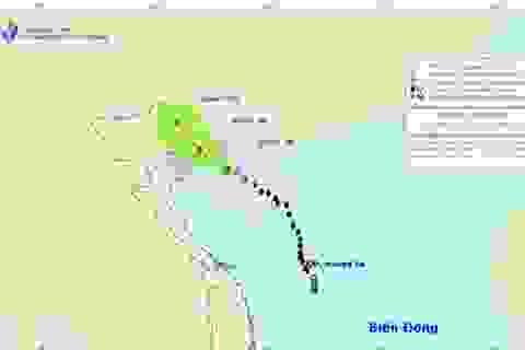 Bão số 1 tiến về phía Quảng Ninh, gió giật mạnh cấp 9