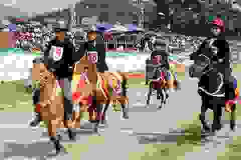 """Những """"kỵ sĩ chân đất"""" người Mông chuẩn bị về Hà Thành"""