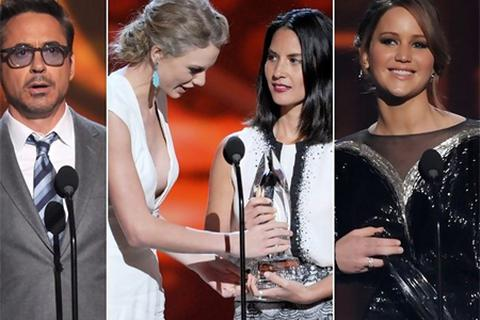 The Hunger Games thắng lớn tại People's Choice Awards